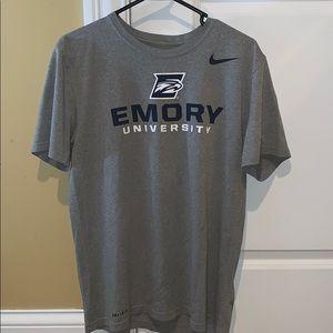 Emory University Nike Dri-Fit Shirt
